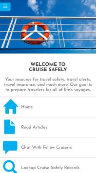 CruiseSafely poster