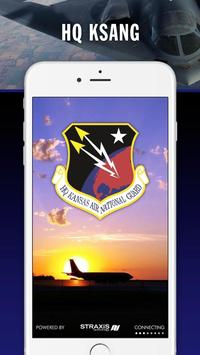 HQ Kansas Air National Guard poster
