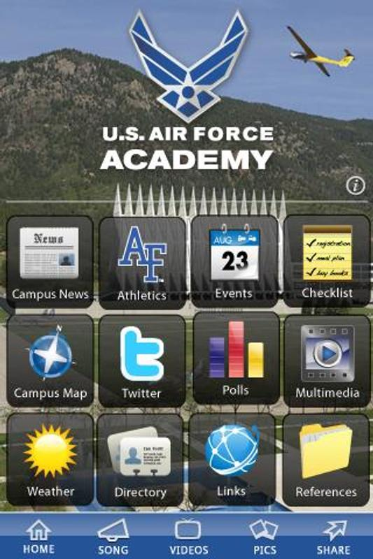Air Force Academy Campus Map.U S Air Force Academy For Android Apk Download