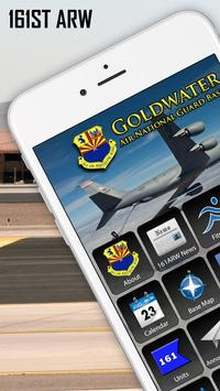 161st Air Refueling Wing, Goldwater ANG Base poster