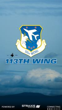 113th Wing: Air National Guard poster