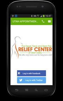 UTAH PAIN RELIEF APPOINTMENTS poster