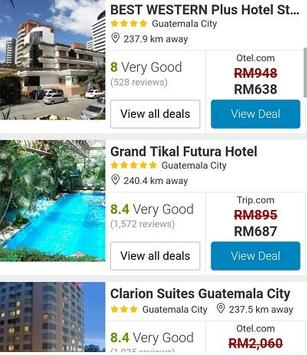 Booking Guatemala Hotels apk screenshot