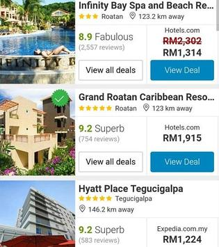 Booking Honduras Hotels apk screenshot