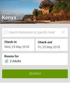 Booking Kenya Hotels poster