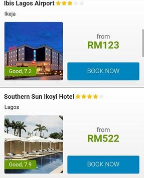 Booking Nigeria Hotels poster