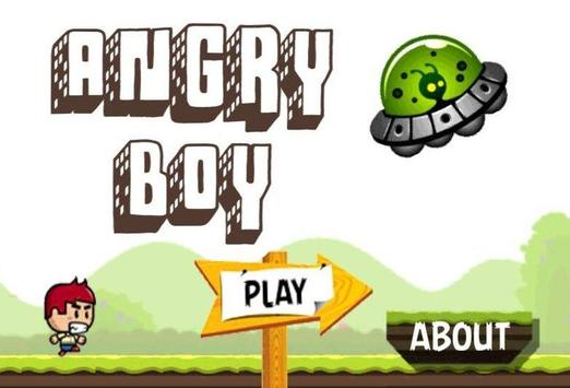 Angry Boy poster