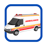 Ambulance sirens-Light icon