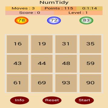 NumTidy screenshot 2