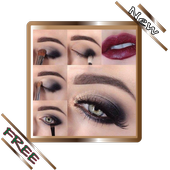 Eye Makeup with steps icon