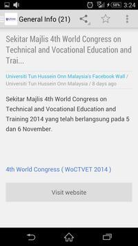 UTHM Student Announcement screenshot 5