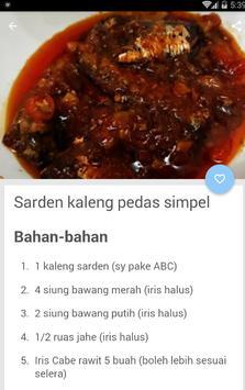 Resep Ikan Sarden Kaleng screenshot 2