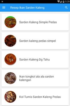 Resep Ikan Sarden Kaleng screenshot 3