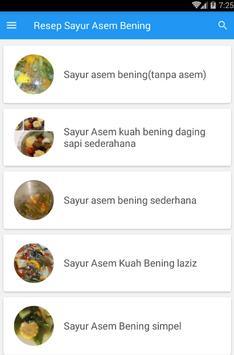 Resep Sayur Asem Bening screenshot 3