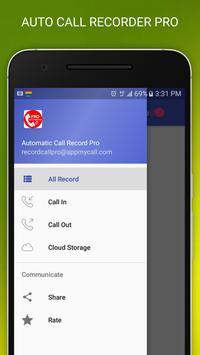 Auto Call Recorder - Spy call apk screenshot