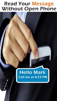 Caller Name Speaker SMS And Call Line free apk screenshot