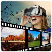 Virtual Reality Video Player icon
