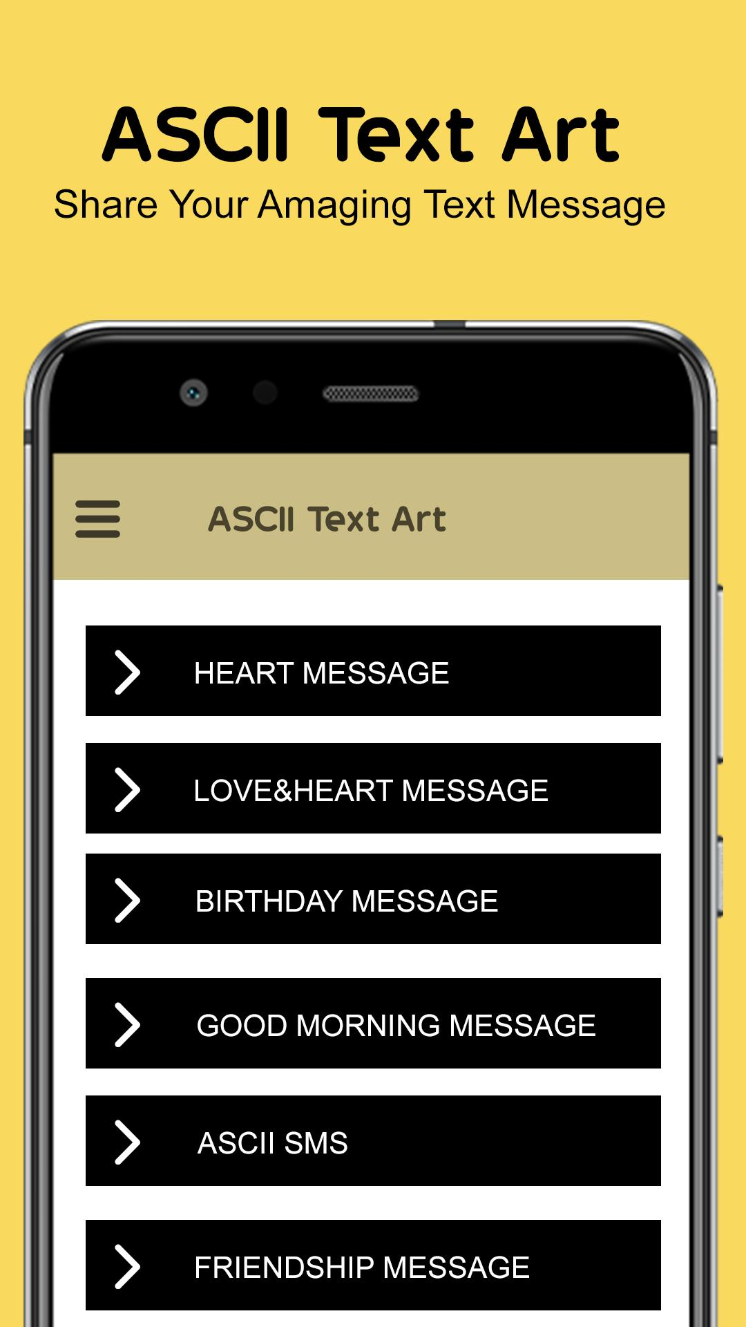 ASCII Text Art - Word Arts - Photo Text ASCII Art for Android - APK