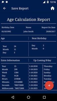 Age Calculator screenshot 3