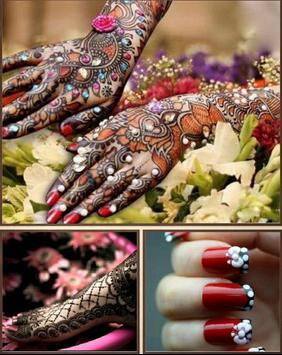 Nail Art & Mehndi Designs poster
