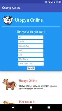 Ütopya Online apk screenshot