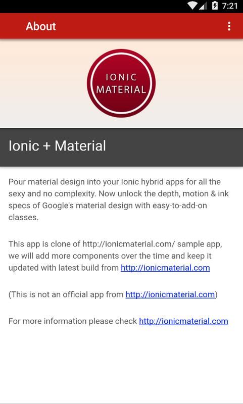 Ionic Kitchen Sink