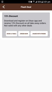 UtsavIndianRestaurant apk screenshot