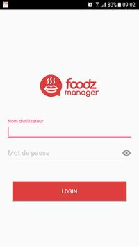 Foodz Manager - Scan Tickets poster