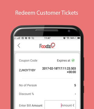Foodz Manager - Scan Tickets screenshot 2