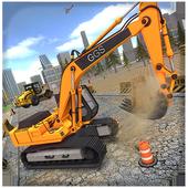 Indian Road Construction & Excavator Simulator 18 icon