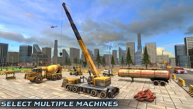Indian Road Construction & Excavator Simulator 18 poster