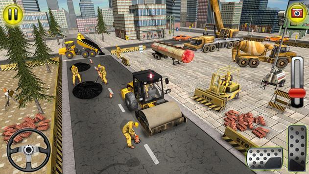 Indian Road Construction & Excavator Simulator 18 screenshot 1