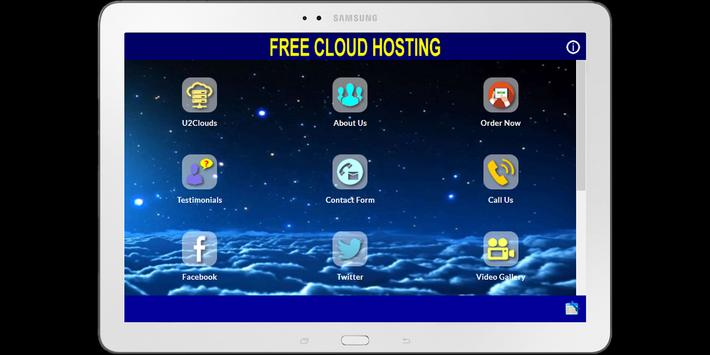 U2Clouds Free Cloud Website Hosting apk screenshot