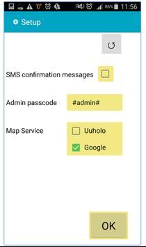 GPS AutoResponder BETA apk screenshot