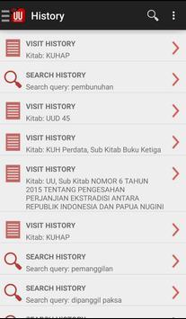 UU Indonesia apk screenshot
