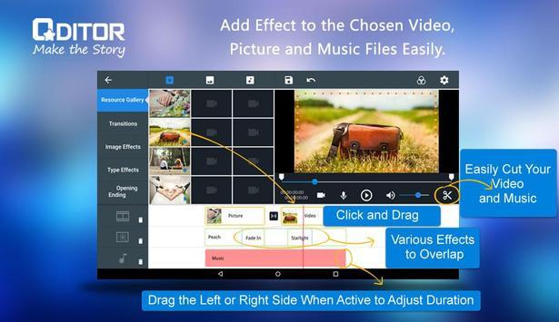 ... Qditor - best video editor apk screenshot ...