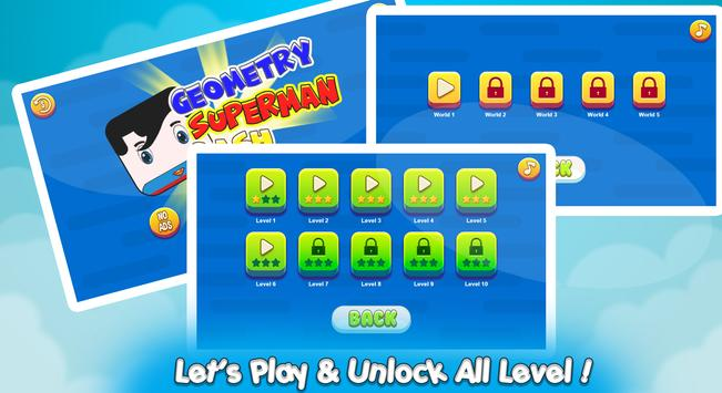 Geometry Superman Dash screenshot 1