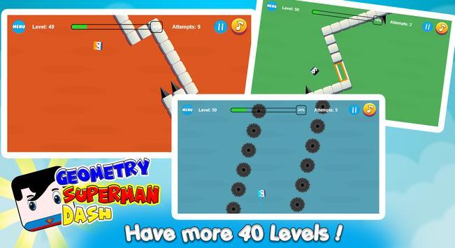 Geometry Superman Dash screenshot 3