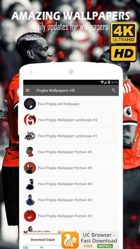 Paul Pogba Wallpapers 4K HD screenshot 4
