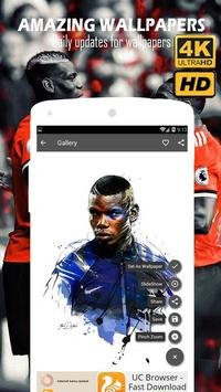 Paul Pogba Wallpapers 4K HD screenshot 5