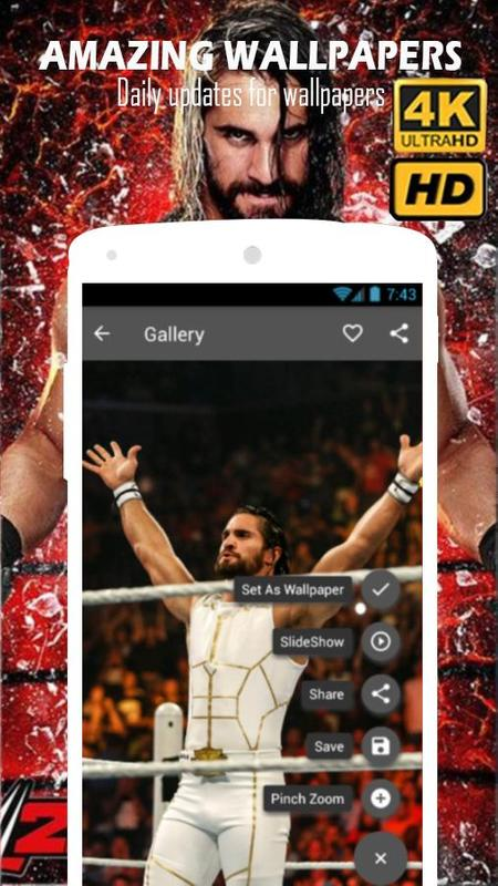 Seth Rollins Wallpapers Hd 4k For Android Apk Download