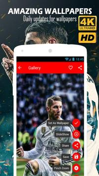 Sergio Ramos Wallpapers HD 4K screenshot 1