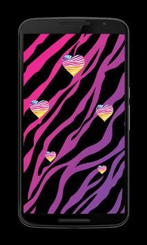Pink Zebra prints Wallpapers screenshot 2