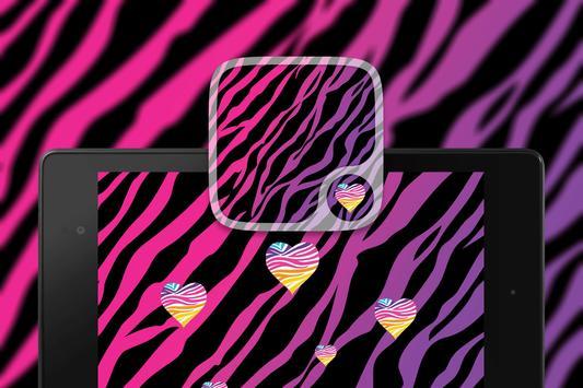 Pink Zebra prints Wallpapers screenshot 4