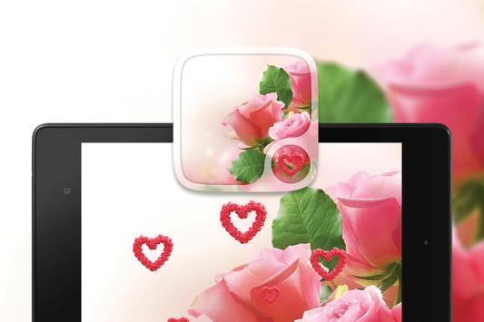 Pink rose Love Wallpapers screenshot 4