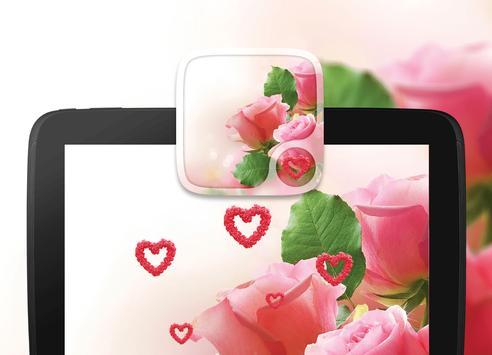 Pink rose Love Wallpapers screenshot 3