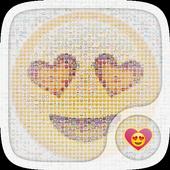 Emoji Hearts Live Wallpapers icon
