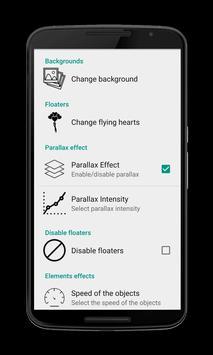 Emoji Hearts Live Wallpapers apk screenshot