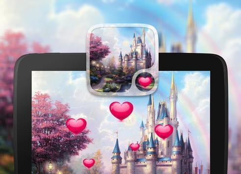 Fairy tale Hearts Wallpaper screenshot 3