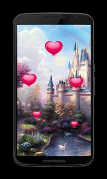 Fairy tale Hearts Wallpaper screenshot 2
